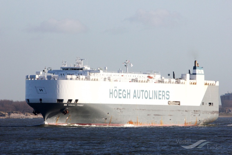 HOEGH TRIDENT, Vehicles Carrier - Details and current