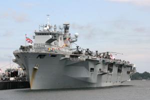 Photo of HMS OCEAN ship