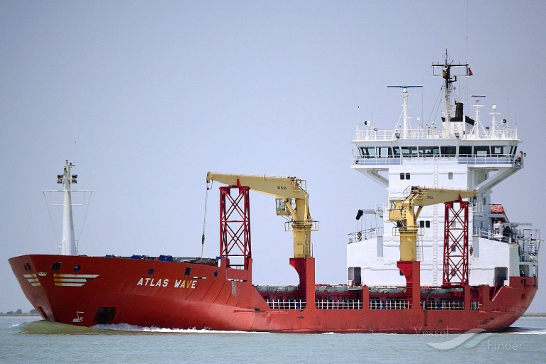 ATLAS WAVE, General Cargo Ship - Details and current position - IMO
