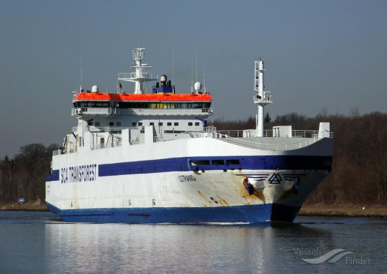 SCA OSTRAND (MMSI: 265413000) ; Place: Kiel_Canal