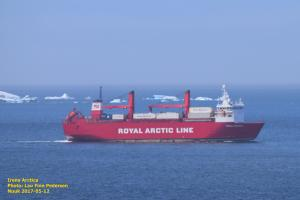 Photo of IRENA ARCTICA ship