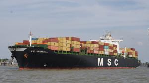 Photo of MSC SAMANTHA ship
