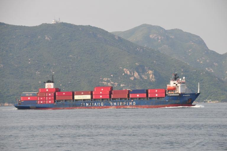 Jj Nagoya Container Ship Details And Current Position Imo 9113161 Mmsi 477800200 Vesselfinder