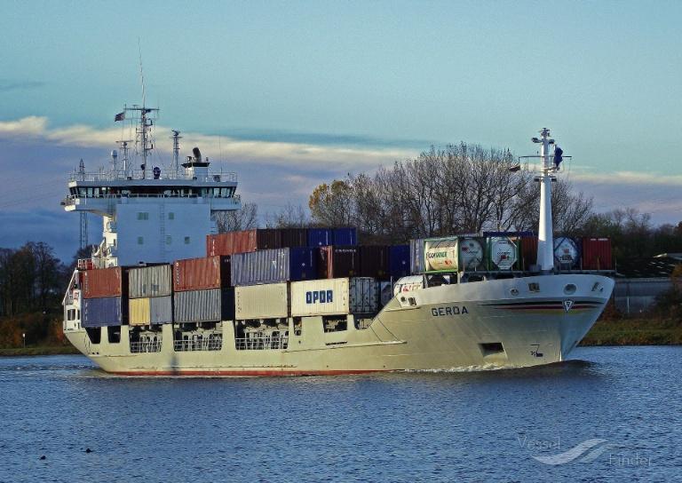 GERDA (MMSI: 211226860) ; Place: Kiel_Canal