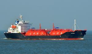 Photo of ASIA GAS ship