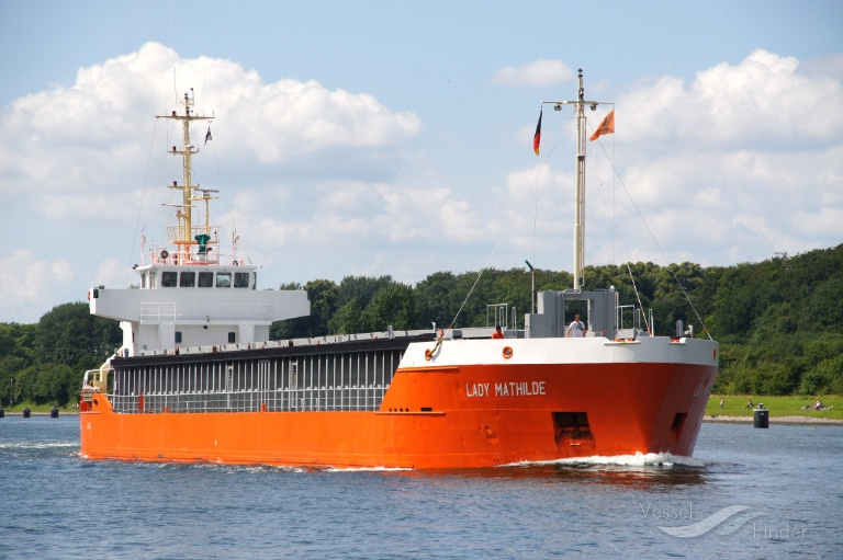 LADY MATHILDE (MMSI: 244114000) ; Place: Kiel Canal, Germany