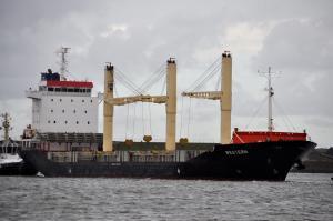 Photo of M.V AJYA ship
