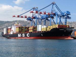 Photo of MSC REBECCA ship