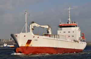 Photo of ALMA ship