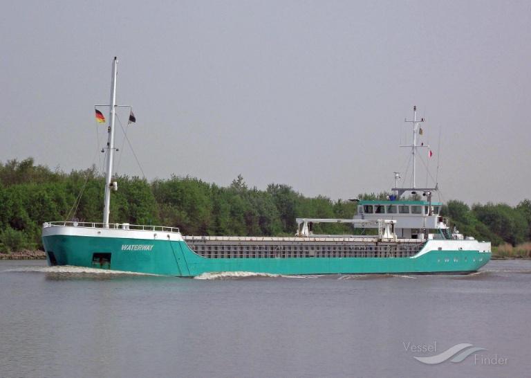 WATERWAY (MMSI: 376532000) ; Place: Kiel_Canal/ Germany