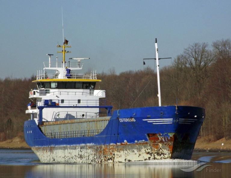 OSTEREMS (MMSI: 275463000) ; Place: Kiel_Canal