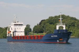 Photo of KATRIN ship