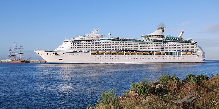 EXPLORER OF THE SEAS (MMSI: 311316000) ; Place: Barbados, West Indies.