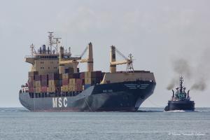 Photo of MSC UMA ship