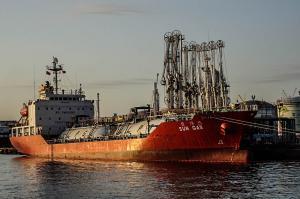 Photo of SUN GAS ship