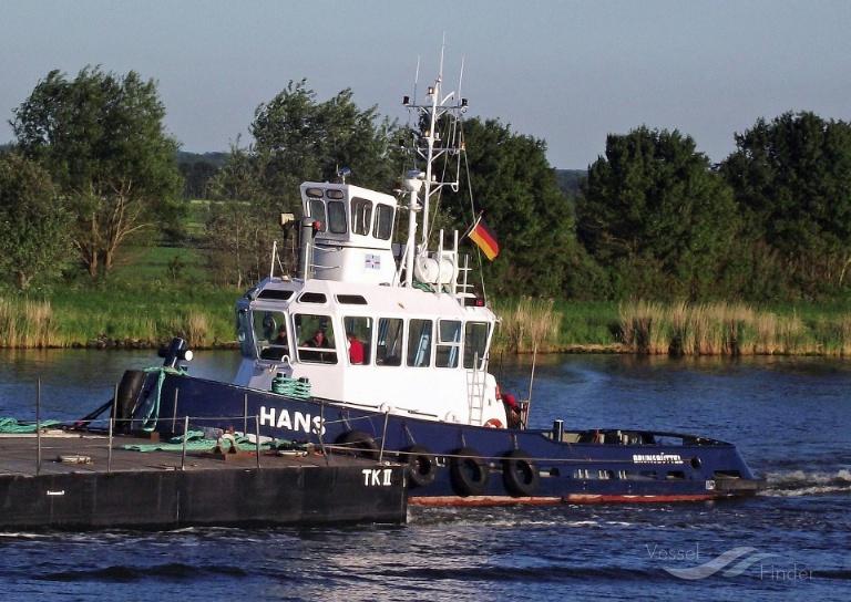 HANS (MMSI: 211266430) ; Place: Kiel_Canal