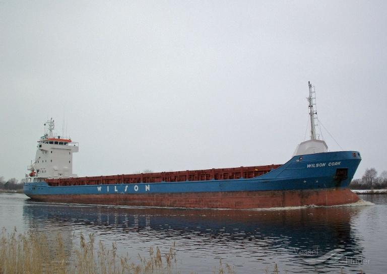 WILSON CORK (MMSI: 314180000) ; Place: Kiel_Canal/ Germany