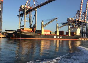 Photo of MSC SHEILA ship