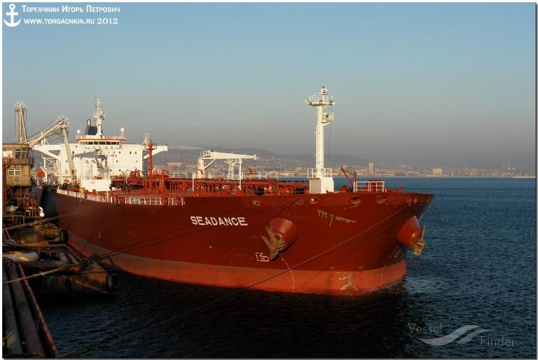 MT SEADANCE (MMSI: 249065000) ; Place: Oil Terminal SHESKHARIS, port Novorossiysk, Russia.