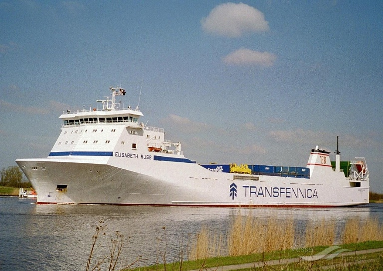 ELISABETH RUSS (MMSI: 255805606) ; Place: Kiel_Canal