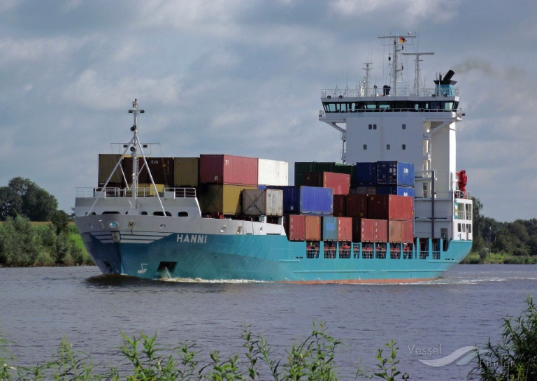 HANNI (MMSI: 211286440) ; Place: Kiel_Canal/ Germany