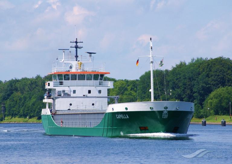 CAPELLA (MMSI: 236278000) ; Place: Kiel Canal, Germany