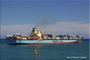 Photo of LEDA MAERSK ship