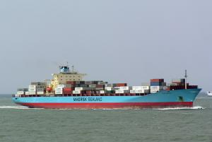 Photo of LEXA MAERSK ship