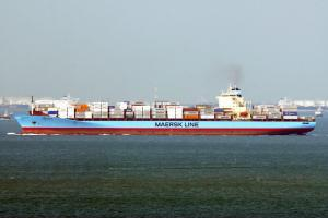 Photo of LEXA MAERSK ship