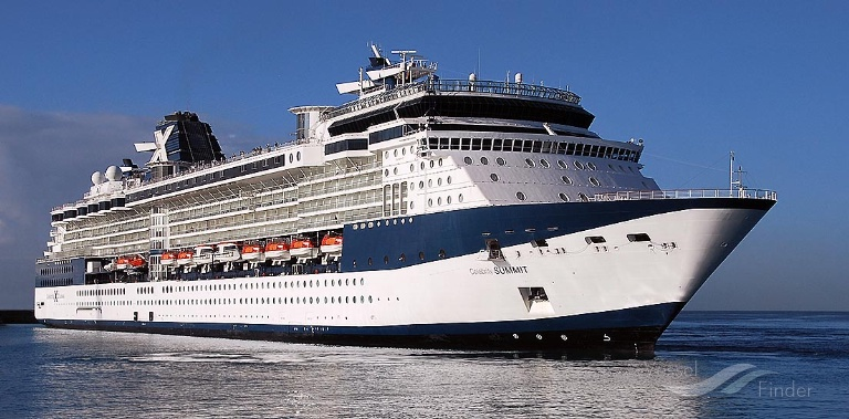 CELEBRITY SUMMIT (MMSI: 249047000) ; Place: Barbados, West Indies.