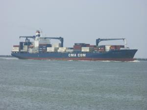 Photo of CMA CGM MATISSE ship