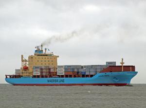 Photo of NICOLINE MAERSK ship