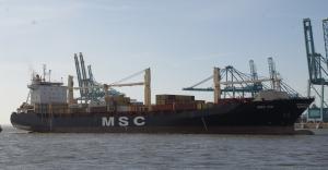 Photo of MSC TIA ship