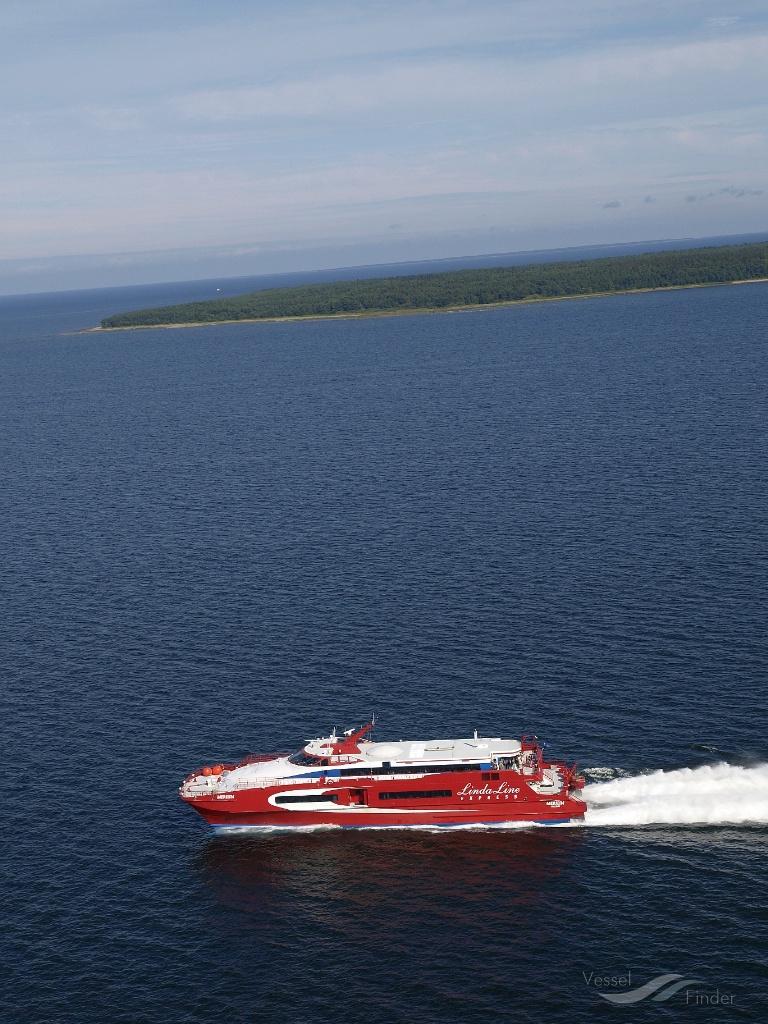 ELDORADO (MMSI: 440039450) ; Place: The Gulf of Finland, Baltic Sea