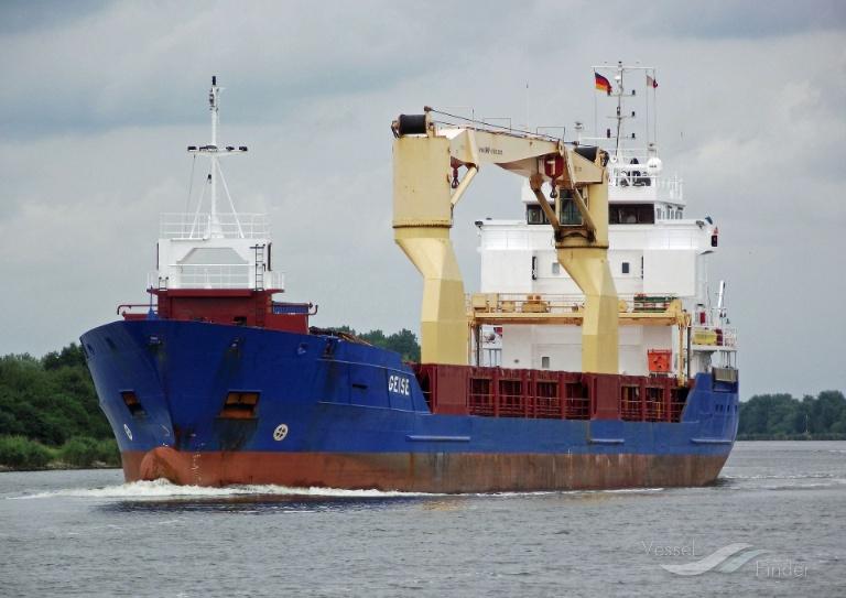 GEISE (MMSI: 236325000) ; Place: Kiel_Canal