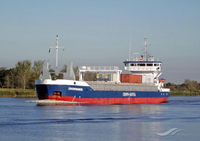 CROWNBREEZE (MMSI: 246169000) ; Place: Kiel_Canal/ Germany