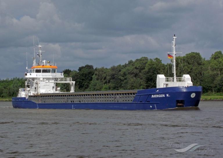 JUERGEN K (MMSI: 244329000) ; Place: Kiel_Canal