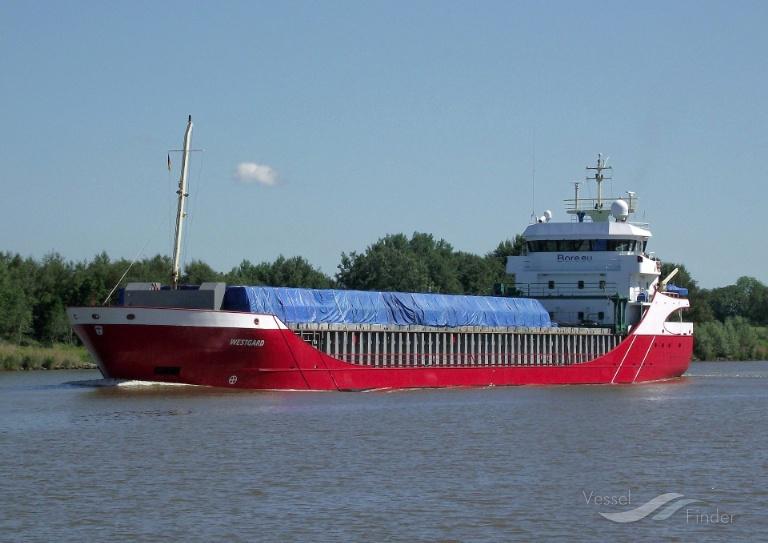 WESTBORG (MMSI: 246457000) ; Place: Kiel_Canal/ Germany