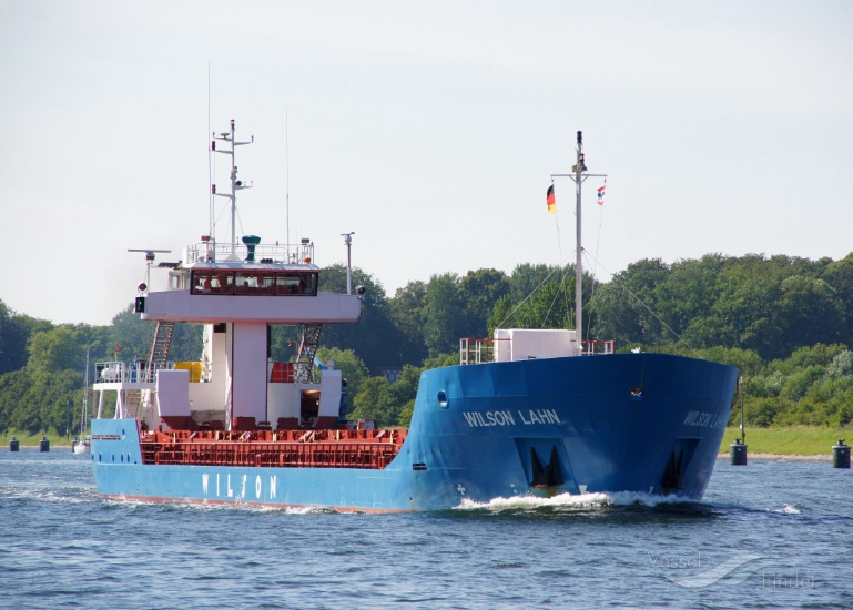 WILSON LAHN (MMSI: 314259000) ; Place: Kiel Canal, Germany
