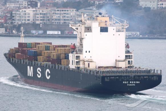 MSC REGINA, Container Ship - Details and current position - IMO