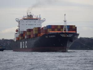 Photo of MSC SANDRA ship