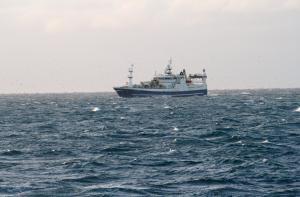 Photo of HUGINN ship