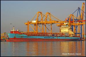 Photo of JEPPESEN MAERSK ship