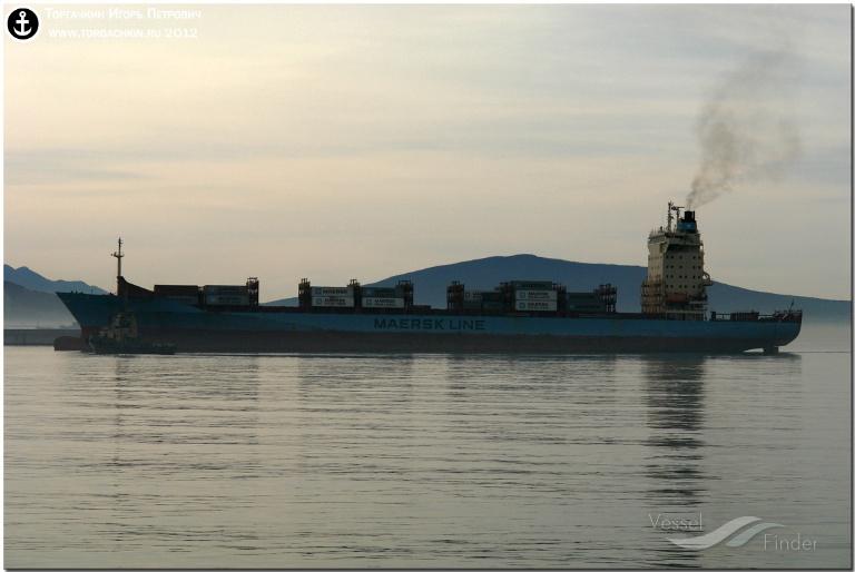 JEPPESEN MAERSK (MMSI: 219953000) ; Place: Port Novorossiysk, Russia.