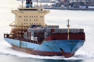 Photo of JOHANNES MAERSK ship