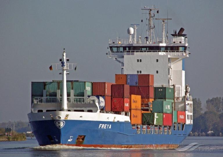 FREYA (MMSI: 244180000) ; Place: Kiel_Canal