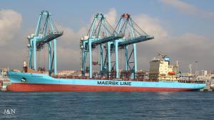 Photo of NEXO MAERSK ship