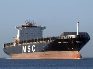 Photo of MSC LUISA ship