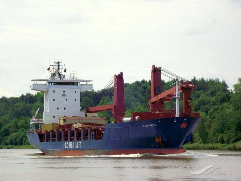 PANTHERA J (MMSI: 636017210) ; Place: Kiel_Canal/ Germany