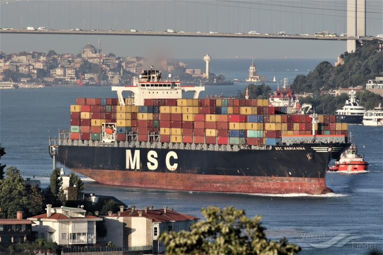 MSC MARIANNA, Container Ship - Details and current position - IMO